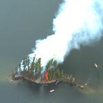 3 No smoke without fire island